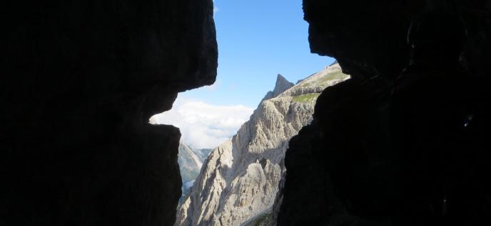Klettersteige in den Sextener Dolomiten 12.8.-17.8. 2014