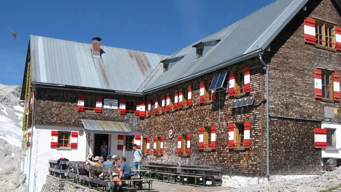 Mannheimer Hütte (2679 m)