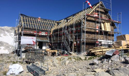 Artikelbild zu Artikel Sektions Projekt Nummer 2 – Mannheimer Hütte