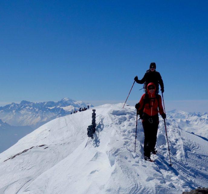 PARADEWETTER AM WILDHORN (Berner Oberland, 3248m)