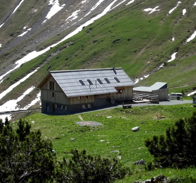 Oberzalim Hütte